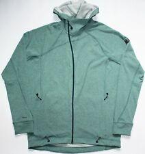 Klattermusen Njorun Cotton Zip Hoodie - XL Size - Mint Green - Mens - Jacket