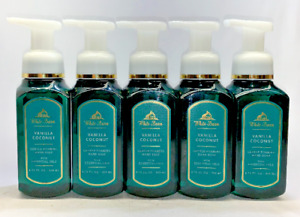 5 Vanilla Coconut Gentle Foaming Hand Soap Bath & Body Works 8.75 fl oz