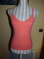 Débardeur LEVI'S orange corail T M 36/38 brassière t-shirt haut bretelles