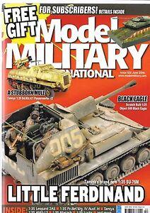 Model Military International Issue 122, JUN 2016, Excellent , Tamiya SU-76M