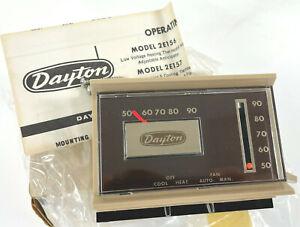Vintage NOS Dayton Automatic Controls Low Voltage Thermostat 2E273
