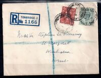GB KGVI 1946 5 1/2d registered cover WS10248