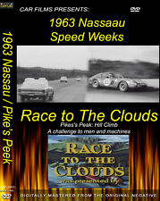 Nassau Speedweek 1963 Cobra Ferrari / Pikes Peak , Sports Car Fun 1 DVD 3 films