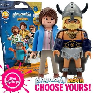 Playmobil The Movie Figures *CHOOSE YOURS* 70069 Series 1 Blind Bags Charlie Rex