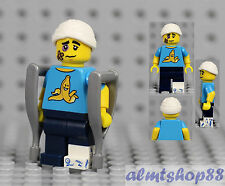 LEGO Series 15 - Clumsy Guy Minifigure Crutches Patient 71011 Collectible CMF