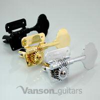 4 x Wilkinson WJBL200 Tuners Machineheads for Fender Squier Jazz Precision Bass*