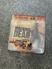 Walking Dead Zombie Biter Figure Mcfarlane Toys Series 1 Rare Action Figure