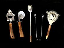 New listing Bakelite Bar & Kitchen Tools Utensils Vintage Mid Century Modern
