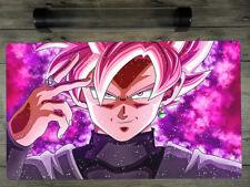 Dragon Ball FighterZ: Goku Rose Black Custom Playmat YuGiOh Mat Free Best Tube