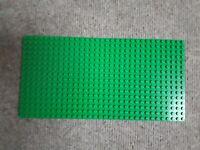 Grüne Lego Grundplatte Bauplatte Grün Rasen 16 x 32 Noppen Green Baseplate