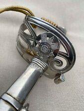 Fine WW1 1854P Scottish Guards Officer's sword - Battle honnours - by Wilkinson