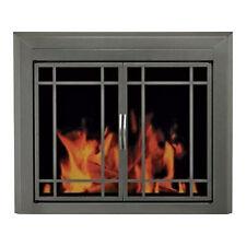 Pleasant Hearth Edinburg Fireplace Glass Door For Masonry Fireplaces Medium