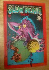 SLOW DEATH Funnies #1 underground First Print VF/NM Robert CRUMB Kim DEITCH