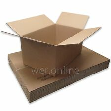 """24"""" x 16"""" x 12"""" Thick Strong Home Removal Packing Double Wall Cardboard Boxes"""
