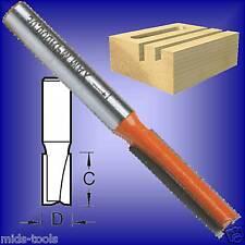 1/4 SHANK STRAIGHT CUT TCT ROUTER BIT cutter 3/8 x 1