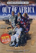 NEW DVD // CORONATION STREET/ OUT OF AFRICA// REGION 1 //FULL LENGTH MOVIE!!!