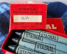 Large-Crayons Staonal #2 * Binney & Smith* * Box Of 12 Blue