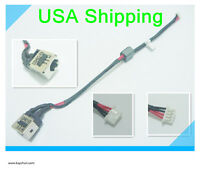 Original DC Power Jack charging port plug in cable for LENOVO IDEAPAD S10-3C