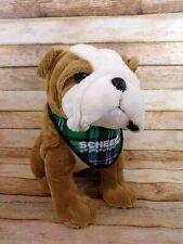 2018 Jaag Scheels Old English Bulldog Plush Dog with Bandanna Promotion