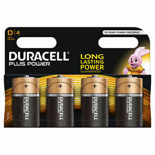 Duracell Plus Power D LR20 Batteries | 4 Pack