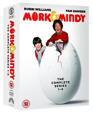 MORK AND MINDY COMPLETE SERIES 1-4 DVD Season 1 2 3 4 UK Release New R2