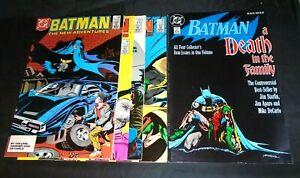 Batman  #408-411 1st new Jason Todd/Death in the Family TPB 1st print    L35