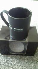 Genuine Mercedes-Benz F1 AMG Petronas BLACK Motorsport Mug NEW STILL BOXED