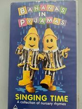 Bananas In Pyjamas - Singing Time - A Collection Of Nursery Rhymes VHS PAL
