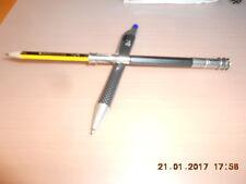 3 Bleistiftverlängerer - div 3x Bleistiftverlängerung Farben Holz m Metall