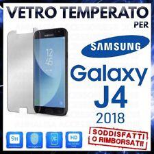Pellicola in VETRO TEMPERATO per SAMSUNG GALAXY J4 2018 Proteggi Schermo J400F