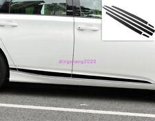 For Honda Accord 2018-2019 Black titanium Door Body Side Molding Cover Trim