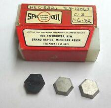 5pc Whpc 532 Hexagon Shape Carbide Inserts Valenite Face Mill Cutter 58 Hex
