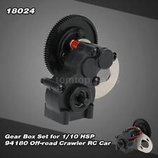 Super 18024 Gear Box Set for 1/10 HSP 94180 Off-road Crawler RC Car W9P0