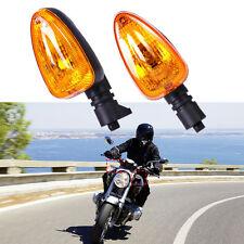 2pcs Orange Turn Signal Light Indicator Lamp for BMW F650gs F800st G450x R1200r