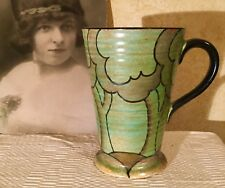 ANTIQUE VINTAGE ART DECO LARGE JUG HANDPAINTED BURLEIGH WARE  C1920's Very Rare!