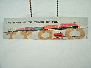 TYCO Model Train Mini Catalog--1962--Accessories[62]--Original