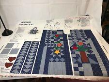 Vip Dreamspinners Denim Blues Sweatshirt Jacket Material: Cranston Print Works