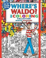 Where's Waldo? The Coloring Collection [New Book] Paperback, Illustrated