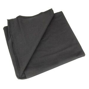 Lautsprecher Boxen HiFi Bespannstoff schwarz 150 x 75 cm Bezug Bespann Stoff