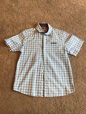Boys NEXT Check Shirt. Age 7 Yrs. VGC
