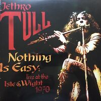 Nothing Is Easy: Live at the Isle of Wight 1970 by Jethro Tull(180g Vinyl 2LP)
