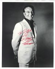 DANNY THOMAS AUTOGRAPH PHOTO, ORIGINAL HAND SIGNED, PORTRAIT STILL,DOUBLE WEIGHT