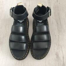 Dr Martens Vegan Clarissa II Quad Chunky Sandals In Black Size UK 4