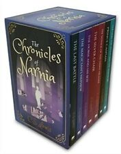 The Chronicles of Narnia Box Set By C.S.Lewis Paperback New