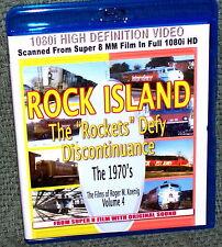 "20141 BLU-RAY HD TRAIN VIDEO ""ROCK ISLAND "" ROCKETS DEFY"