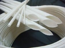 Glass Fiber High Temperature Electrical Insulation Tube Sleeving 600°C #VD6