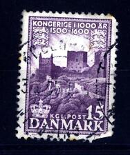 DENMARK - DANIMARCA - 1953-1955 - Rovine del castello Hammershus (Bornholm) (16