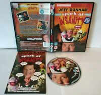 JEFF DUNHAM Spark or Insanity DVD - Dezoné / Region Free - Très bon état