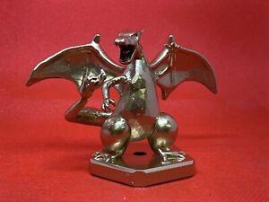 Pokemon Charizard Statue / Trophy Figure Gold Sword Shield Sun Moon Lets Go