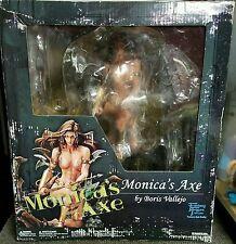 Monica's Axe PVC Figure Boris Vallejo Yamato Fantasy Figure Gallery RARE